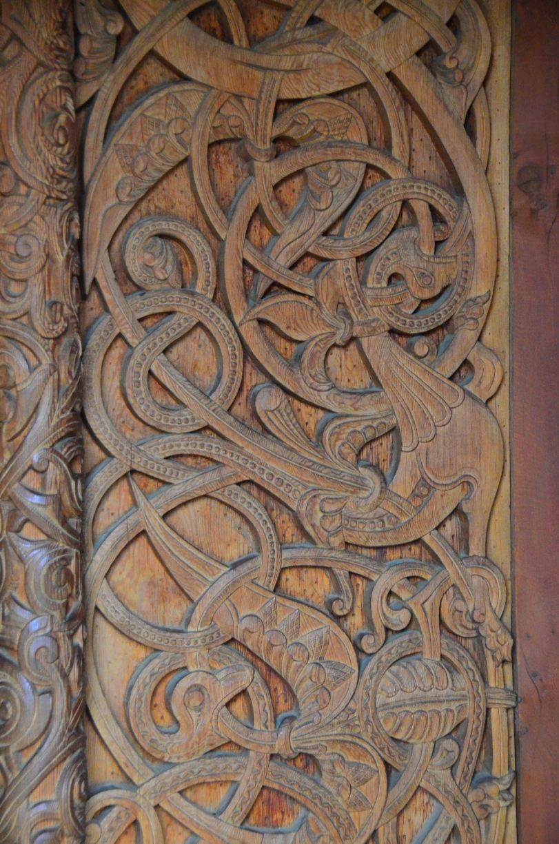 Door Carving, Chapel in the Hills, Copyright Damommachef Travels