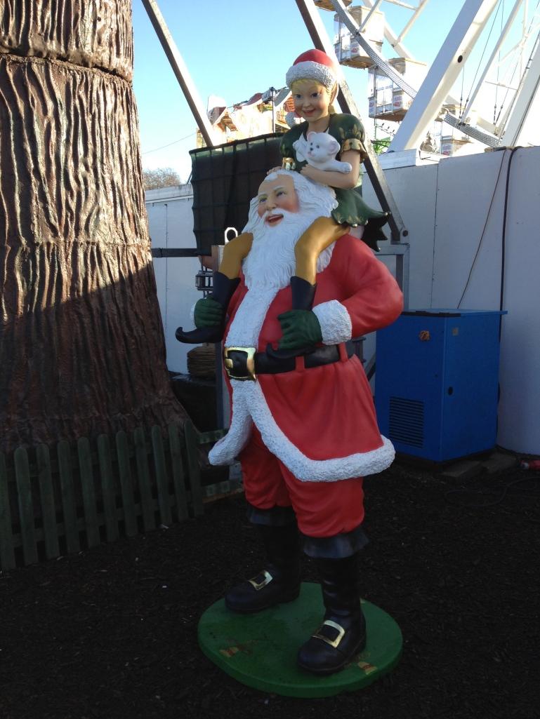 Santa is real!!!!