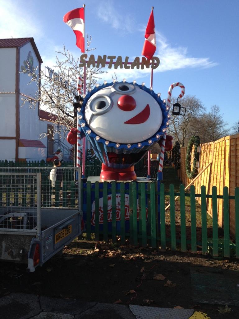 Yay!  Santaland!  Definitely NOT creepy.