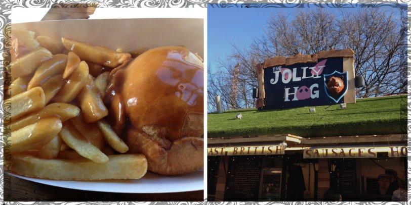 Jolly Hog in Hyde Park Winter Wonderland