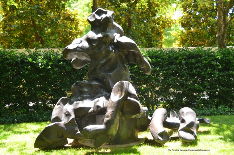 de Kooning, Seated Woman, 1969, Bronze