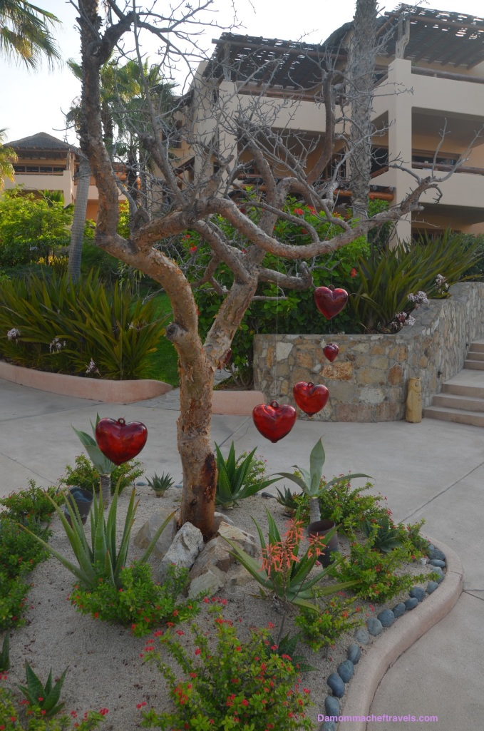 Whimsical heart tree.