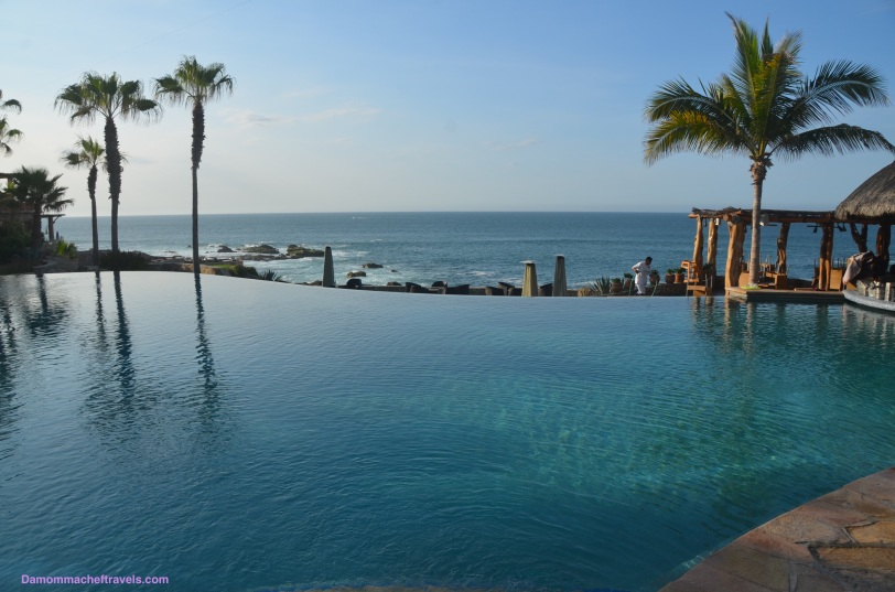 """Quiet Pool"" (Adults only) with a view of the ocean."